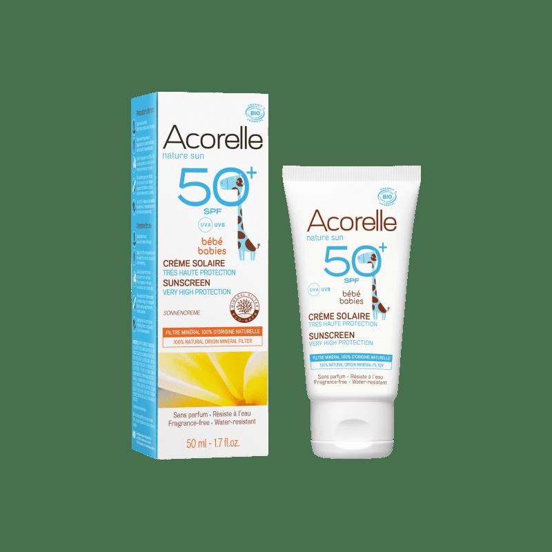 Crème Solaire Bébé SPF50+ - 50ml