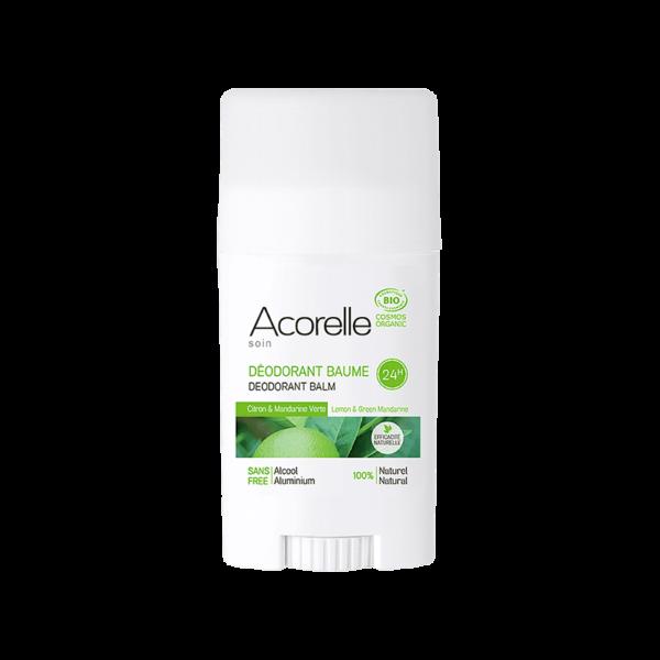Déodorant Citron / Mandarine Verte Bio - Acorelle