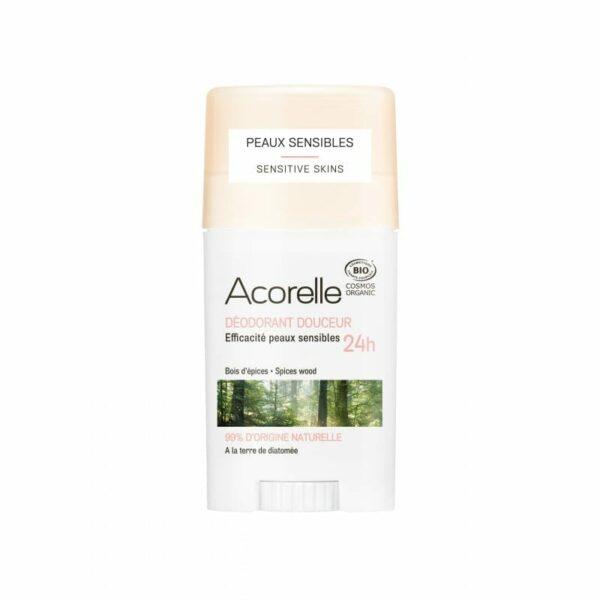 Acorelle deodorant douceur bois d'epices bio