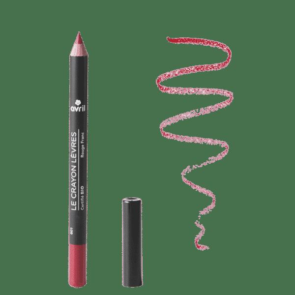 Crayon Contour Des Lèvres Rouge Franc Bio - Avril