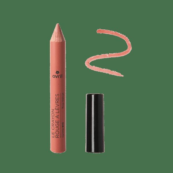 Crayon Rouge à Lèvres - Rose Délicat Bio - Avril