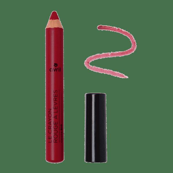Crayon Rouge à Lèvres Bio - Châtaigne AVRIL