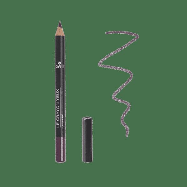 Crayon Yeux Prune Bio - Avril