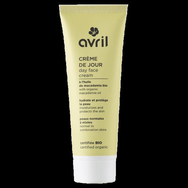 Crème de Jour Bio - Peau Normale & Mixte AVRIL