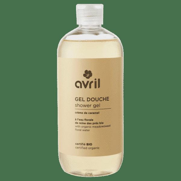 Gel Douche CrèGel Douche Crème de Caramel Bio - Avril