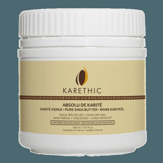 Absolu de Karité Pur et Sans Parfum 500ml Bio - Karethic