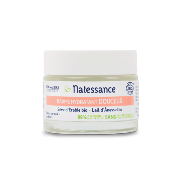 Baume Hydratant Douceur - Peaux Normales à Sèches Bio - Natessance