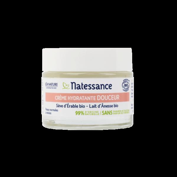Crème Hydratante Douceur - Peaux Normales à Mixtes Bio - Natessance