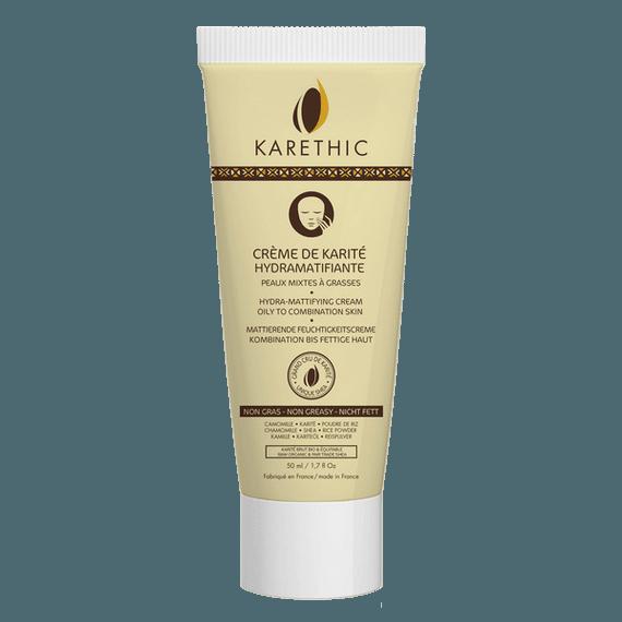 Crème de Karité Hydratante et Matifiante Bio - Karethic