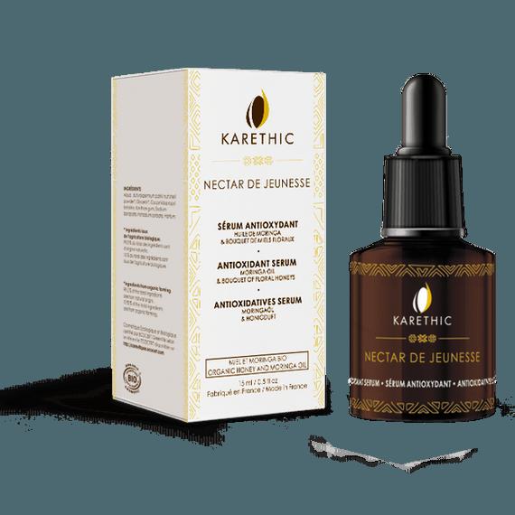 Sérum Visage Antioxydant Nectar de Jeunesse Bio - Karethic