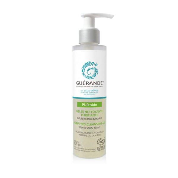 Pur-Skin - Gelée Nettoyante et Purifiante pour le Visage Bio - Guerande
