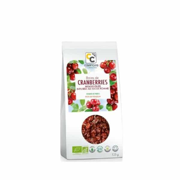 baies de cranberries bio