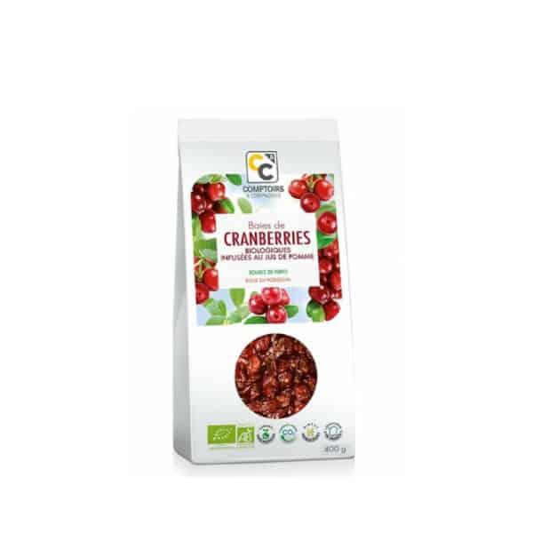 Baies de cranberries 400g - Comptoirs & compagnies