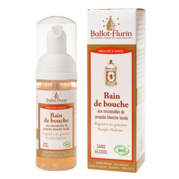 Bain de Bouche à la Propolis Blanche Bio - Ballot Flurin