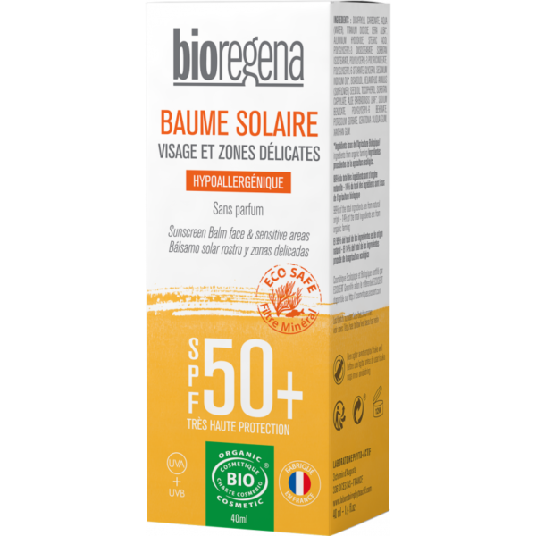 Baume Visage SPF50+ Bio - Bioregena