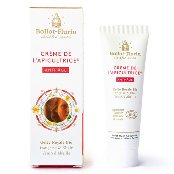 Crème de l'Apicultrice® Anti-Âge Bio - Ballot Flurin