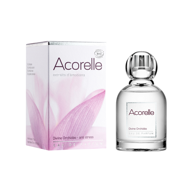 Eau de Parfum Divine Orchidée Bio - Acorelle