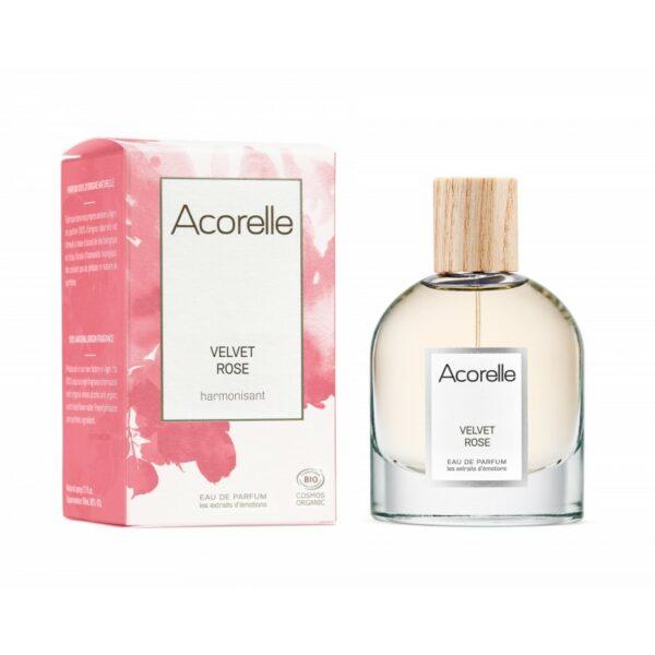 Eau de Parfum Velvet Rose Bio - Acorelle