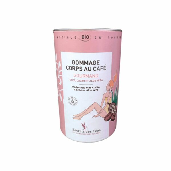 Gommage Corps Bio Cafe Gourmand Secrets des fees
