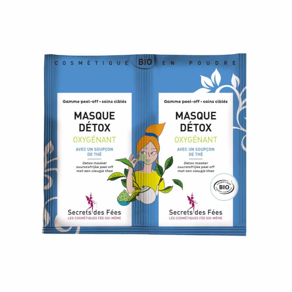 MASQUE DÉTOX OXYGÉNANT - Secrets des fées