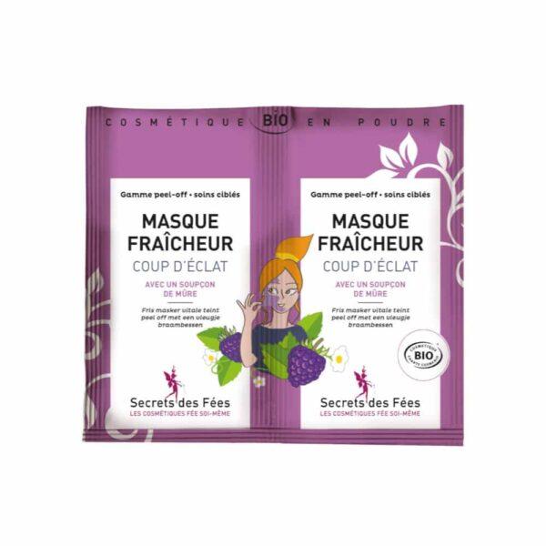 MASQUE FRAICHEUR COUP D'ÉCLAT - Secrets des fées