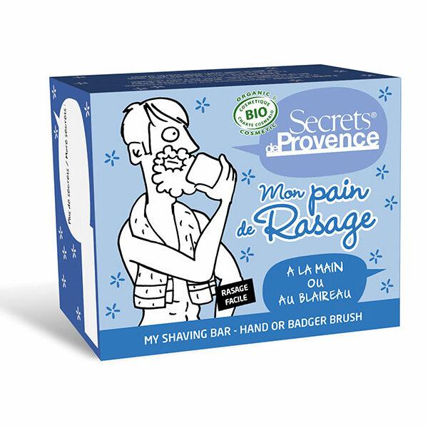 Mon Pain de Rasage Homme Bio - Secrets de provence