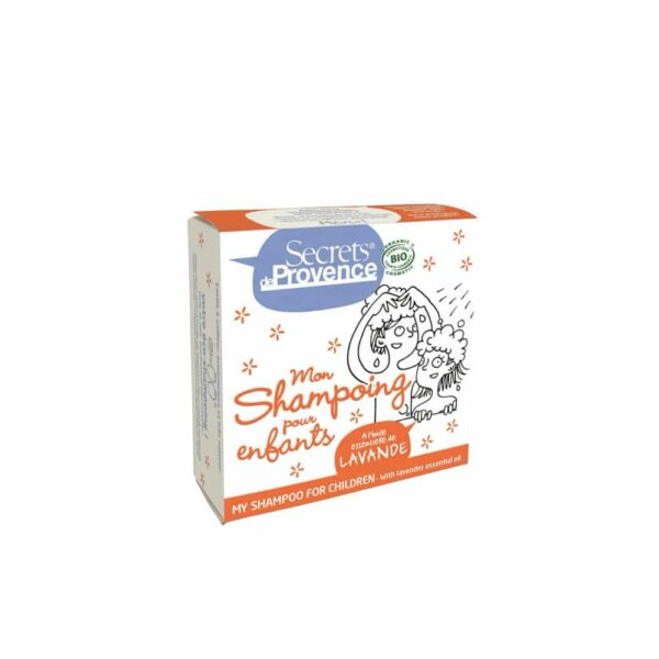 Mon Shampoing solide certifié Bio Enfant - Secrets de Provence
