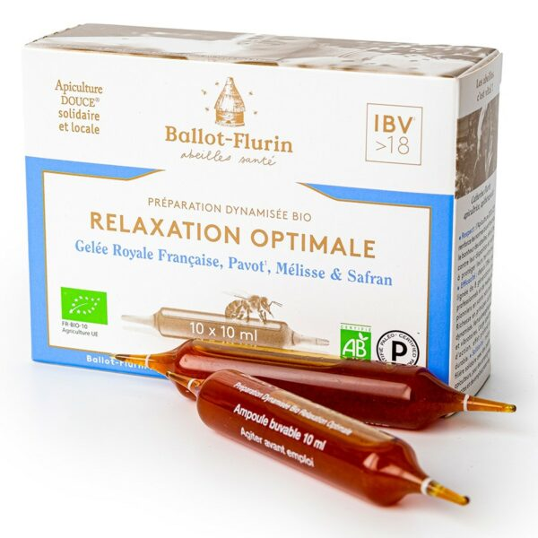 Préparation Dynamisée Relaxation Optimale Bio - Ballot Flurin