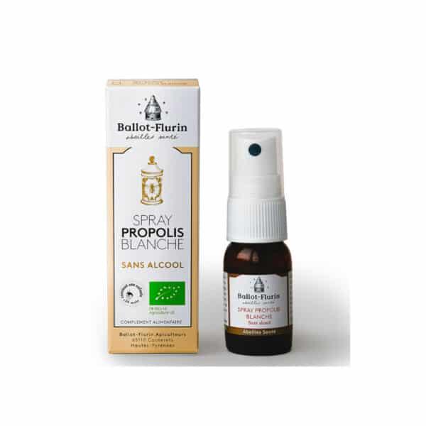 Spray Propolis Blanche Bio - Ballot-flurin