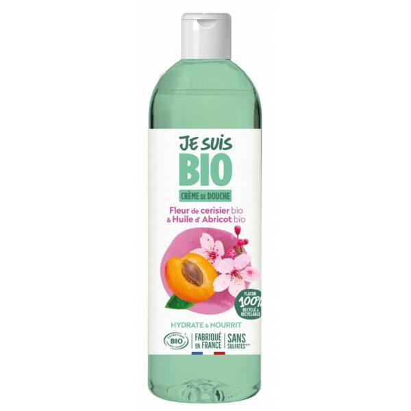 Crème de Douche Fleur de Cerisier et Abricot - 250ml Bio - Je suis Bio