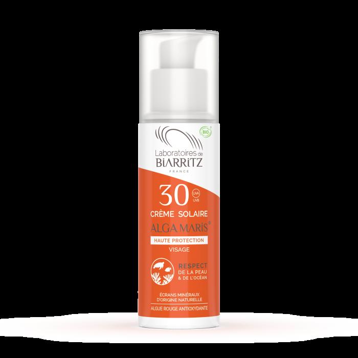 Crème Solaire Visage SPF30 Bio - Laboratoires de Biarritz