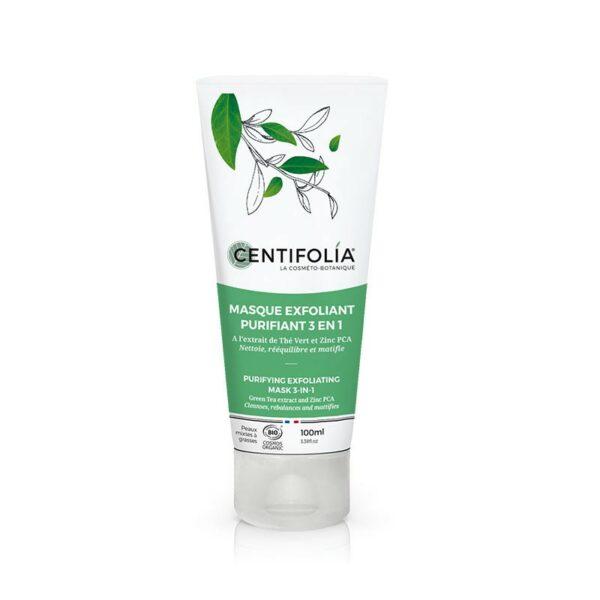 Masque Exfoliant Purifiant 3 en 1 Bio - Centifolia