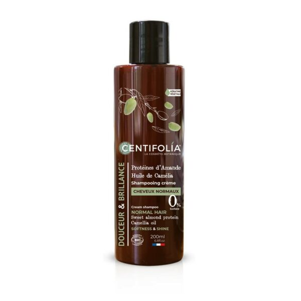 Shampooing Crème Cheveux Normaux Bio - Centifolia