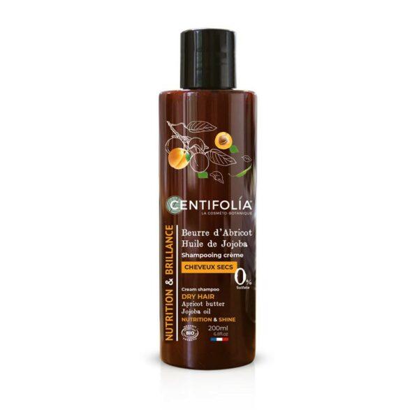Shampooing Crème Cheveux Secs Bio - Centifolia
