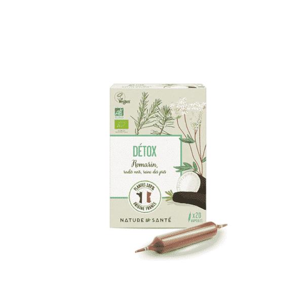 Ampoules Détox Bio - Nature & Santé