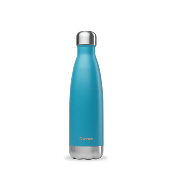 Bouteille nomade Originals Turquoise isotherme 750ml - Qwetch