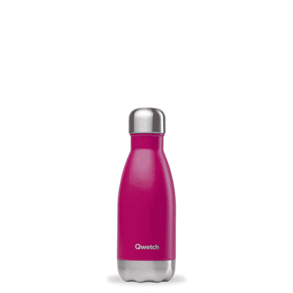 Bouteille nomade Originals Magenta isotherme 260ml - Qwetch
