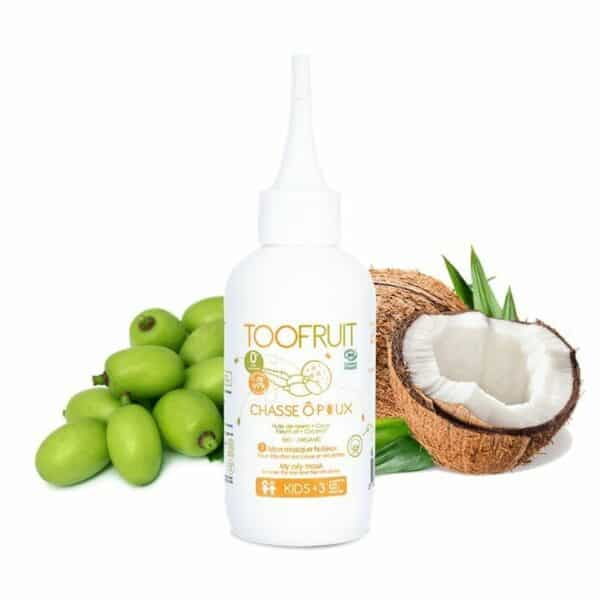 Chasse O Poux, Traitement Masque Huileux Bio- 125ml Bio Toofruit
