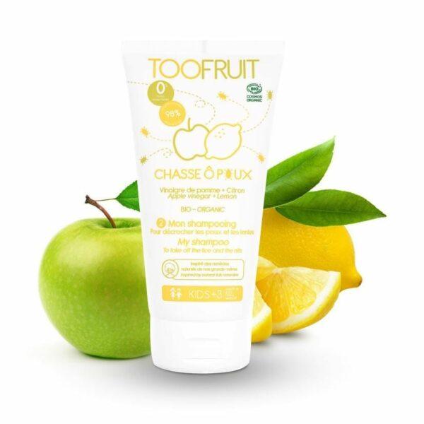 Chasse O Poux, Shampooing Bio - 150ml Bio Toofruit