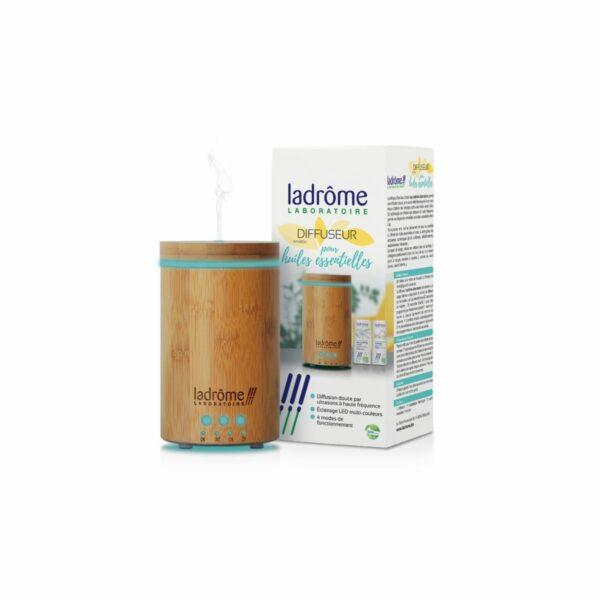 Diffuseur pour Huiles Essentielles Bambou Ultrasonique Bio - Ladrome