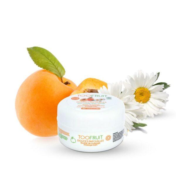 Douces Papouilles, Baume Massage Abricot Et Camomille Bio - 75ml Bio Toofruit