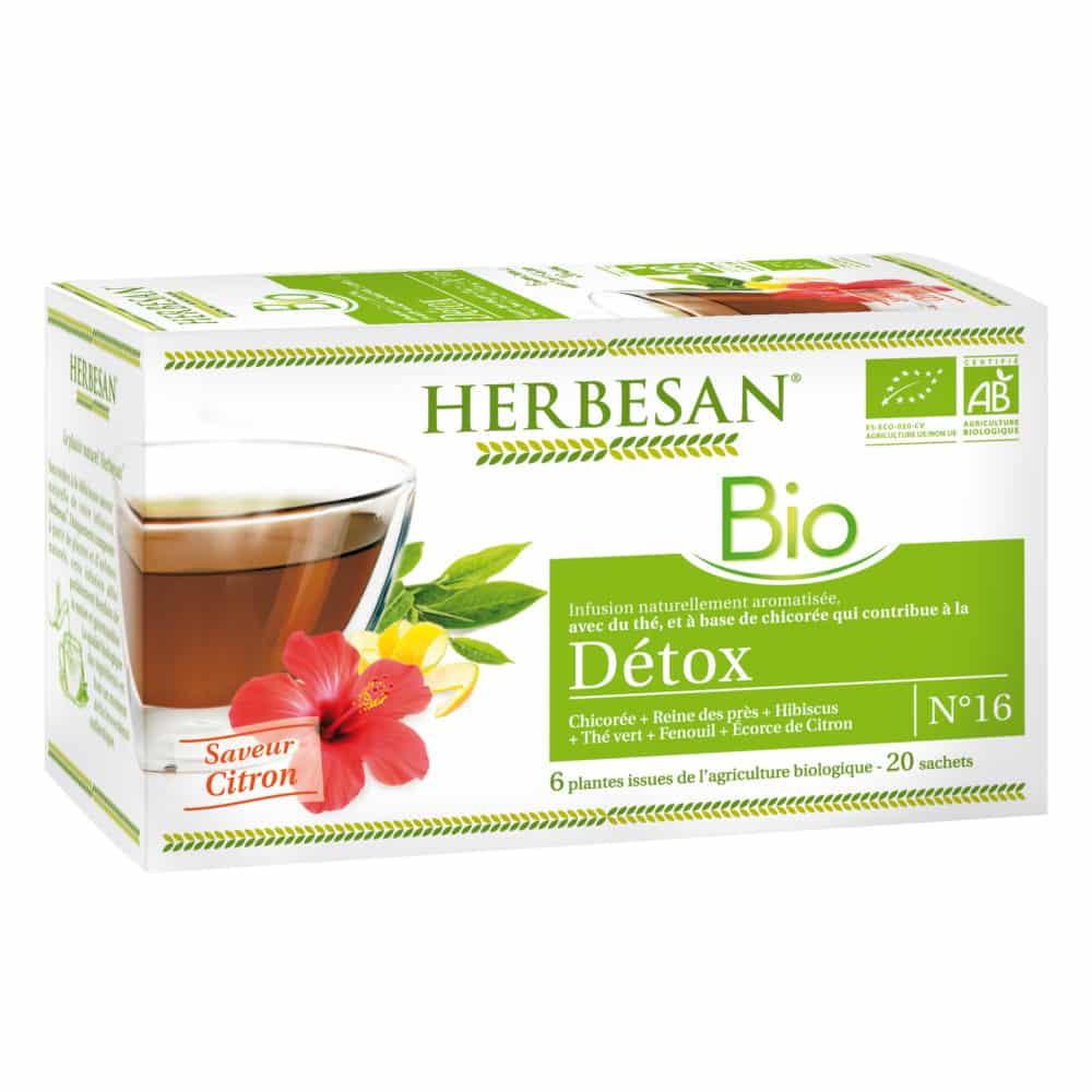 Infusion Détox Bio - Herbesan