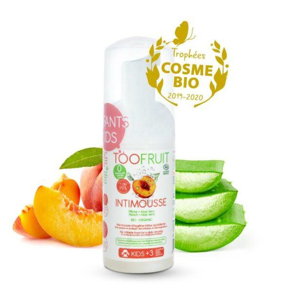 Intimousse, Eau Moussante Pour La Zone Intime Bio - 100ml Bio Toofruit