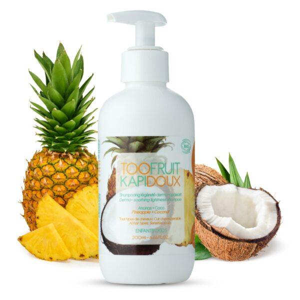 Shampooing Ananas Coco Bio - 200ml Bio Toofruit