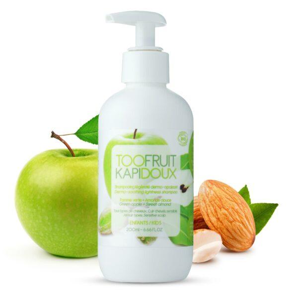 Shampooing Pomme Verte Amande Douce Bio - 200ml Bio Toofruit