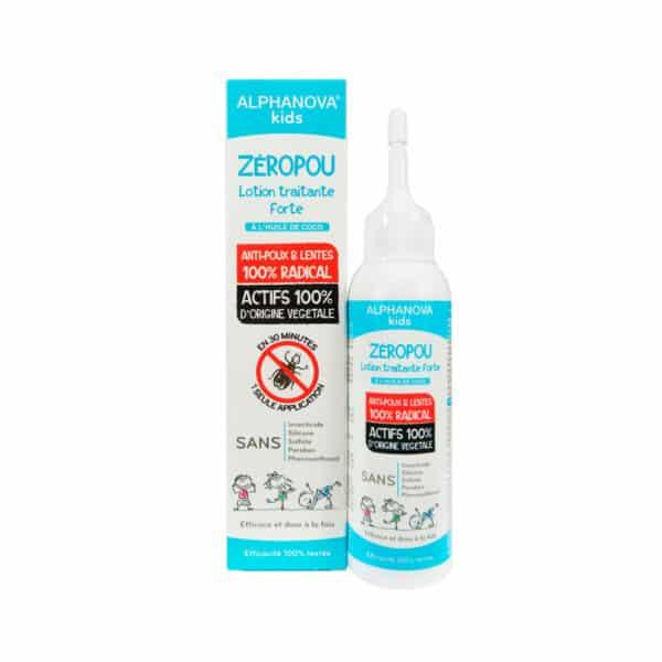 Lotion Anti-Poux & Lentes Zeropou Bio - Alphanova