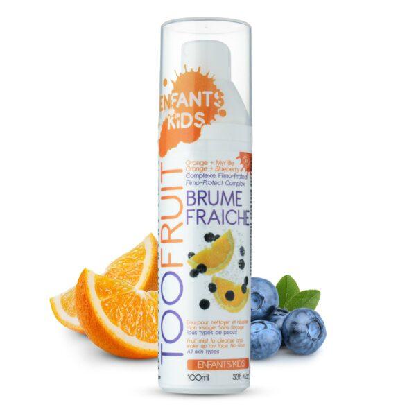 Brume Fraîche, Lotion Sans Rinçage Bio - 100ml Bio Toofruit