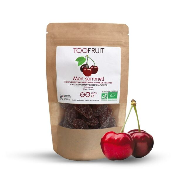 Sommeil Bio - Sachet De 30gummies Bio Toofruit