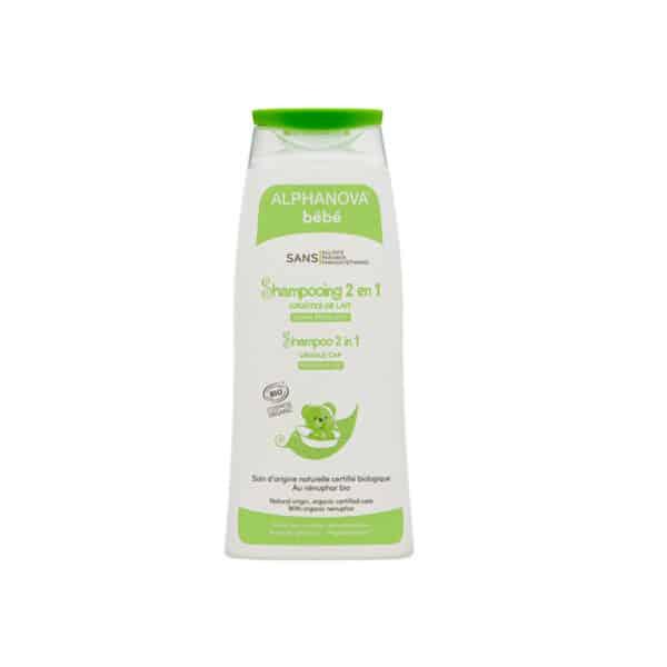 Shampooing Bébé 2 en 1 – Croûtes de Lait Bio - Alphanova