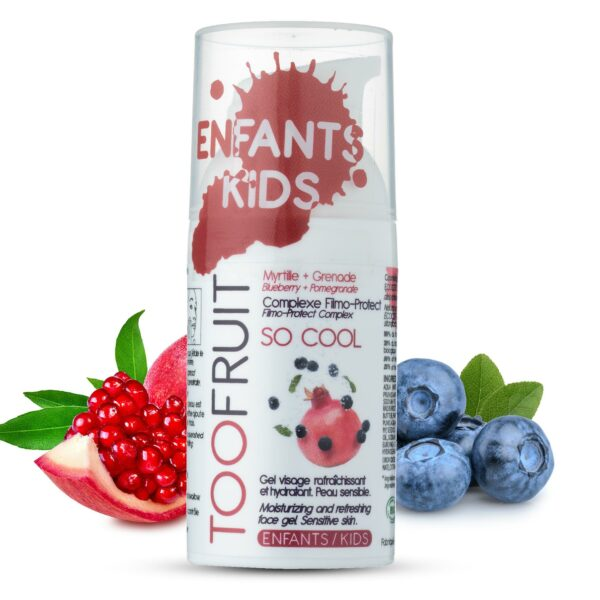 So Cool,gel Crème Hydratant Et Apaisante Bio - 30ml Bio Toofruit